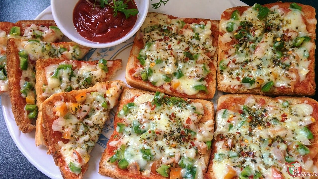 HOW TO MAKE BREAD PIZZA ON TAWA