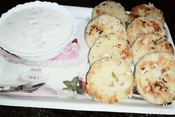 Yummy# sama#Chawal#tikki#at#home