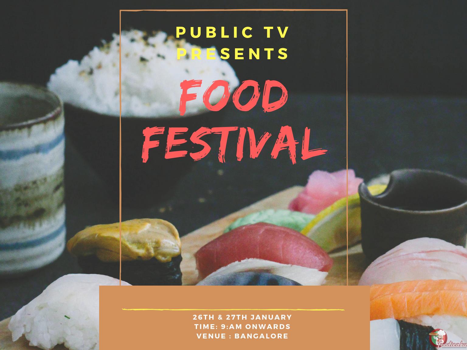 "PUBLIC TV Presents ""Ogara Food Festival"" : Foodieaku"